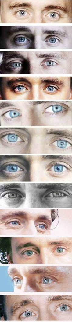Tom's beautiful eyes