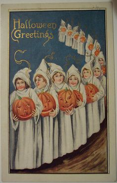 Vintage Halloween Post Card