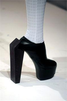 . weird shoe