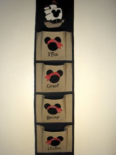 Custom Pirate Disney 4 Pocket Fish Extender by FairyTaleEmbroidery, $48.95 @Julie Higgins the pirate one! so cute!