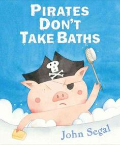 2014 Pirate & Princess Party. A young pig tries to avoid taking a bath by claiming to be a variety of characters, from an astronaut to an Eskimo, as his mother tries to lure him into the tub.
