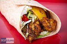 Healthy Eating Recipe - Grilled Chicken & Shrimp Fajitas