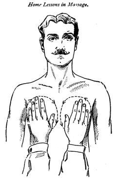 vintage massage lesson