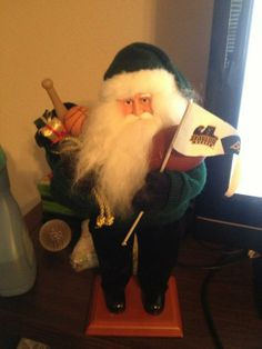 Even Santa knows who to root for! (via bugenius on Twitter) // #SicEm #Baylor