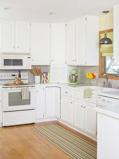 This is very similar to our layout. I want a corner appliance garage, too.