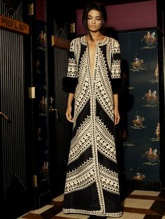 long dresses, boho chic, evening dresses, daniela braga, pattern, the dress, black white, magazin, kaftan