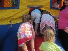 Fun games for a preschool carnival
