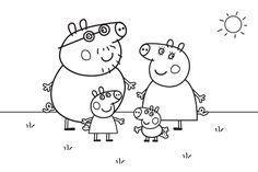 Dibujo para colorear de Peppa Pig (nº 16)