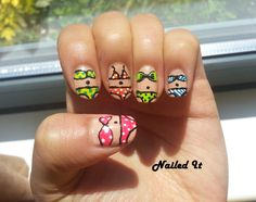 Bikini Nails!  #Summer #Nails