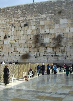 The Western Wall, Je