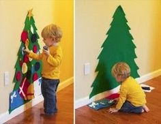 Home Decor Ideas: Craft ideas christmas tree for kids
