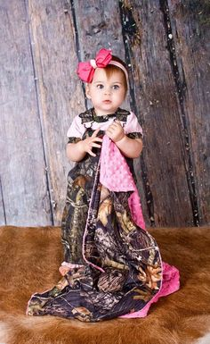 Baby girl camo!!!