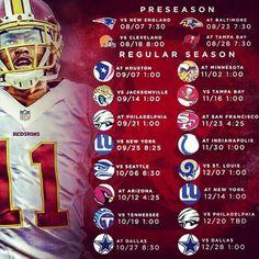 Redskins 2014 Schedule HTTR