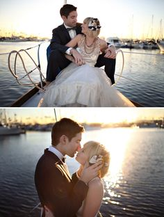 Whitney + Drew: Nautical Day After Wedding Photos | Green Wedding Shoes Wedding Blog | Wedding Trends for Stylish + Creative Brides