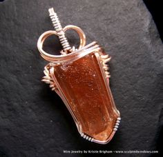 wire jewelri, etsi marketplac, handmad jewleri, rutil quartz, pendant 14k, jewelri lover, point pendant, quartz point, etsi fave