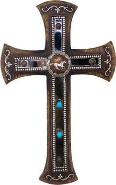 Running Horse cross
