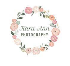 photography logo / photo branding / photography brand / flower / vintage / blog header / blogger header / design. $10.00, via Etsy.