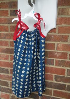 Dresses out of bandannas - good instructions for arms for pillowcase dresses