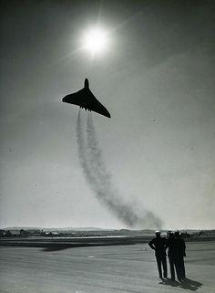 Avro Vulcan Depature