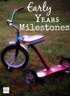 Early Years Milestones - Pink Oatmeal