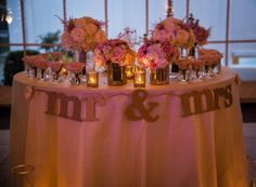 Blush pink wedding.