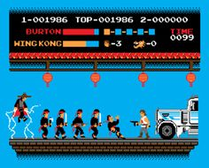 8Bits Trouble In Little China !! #gaming #movie #parody #8bit #pixel #art #illustration #big #trouble #little #china