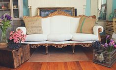 ❥ Trois Petites Filles: Dreaming in Fairy Tales French Settee