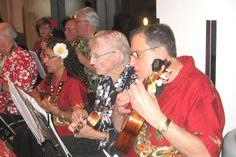 Beautiful serene sounds of ukuleles playing ....