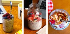 Check out these recipes for easy mason jar breakfasts to grab on your way out the door.