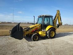New Holland Backhoes    http://www.rockanddirt.com/equipment-for-sale/NEW-HOLLAND/backhoes