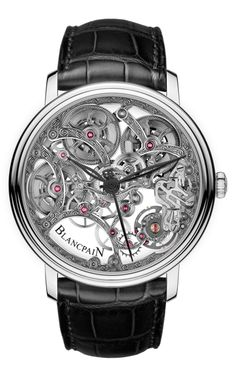 Blancpain Villeret Squelette 8 Hours watch..... Yeah I have a thing for watches, And this one is sick