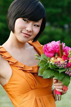 Love, love, love this orange bridesmaid dress! So much fun #bridesmaid #dress #wedding #orange http://www.amandaarcher.com/#!Bridesmaid-in-Orange/zoom/cyuu/image1k0k