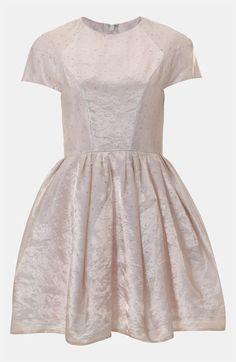 Topshop Organza Party Dress #Nordstrom #britishstyle