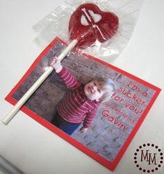 Valentine's Day card idea!