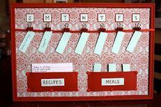 Meal Planning 101- Display Your Menu