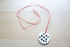 DIY Shrink Plastic Pendant Necklace