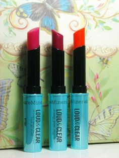 bareMinerals Loud & Clear Lip Sheers, click thru for pics, swatches & review!