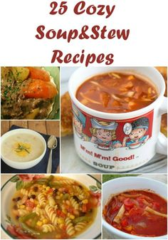 Easy Soup Recipes for Fall! Get these Cozy Soup Recipes now for a Home Cooked Meal!
