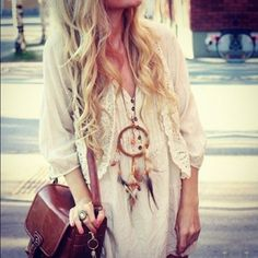 dream catcher necklaces!