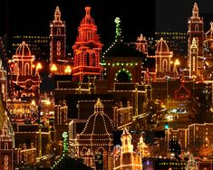 Kansas City Plaza at Christmas!