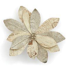 Bloomingdale's Paper Poinsettia