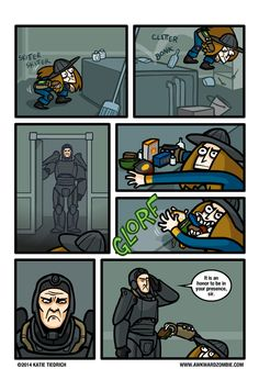 The Hero the Wasteland Deserves #Fallout Comic