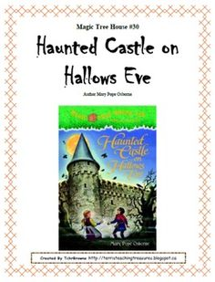 #30 Magic Tree House- Haunted Castle on Hallows Eve Novel Study