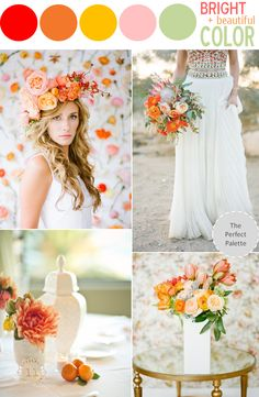 Color Story | Bright + Beautiful Color!
