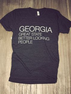 southern pride, southern chic, dream closet, charli southern, georgia, state tee