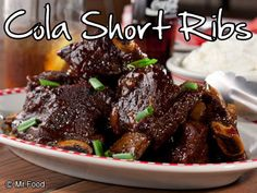 Cola anyone? We've worked one of our favorite bubbly drinks into our supper with this melt-in-your-mouth dinner recipe for Cola Short Ribs.