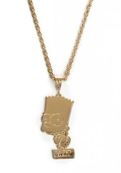 Joyrich Bart Face Necklace | Dolls Kill