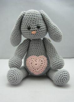 Sweet Bunny (Instant download Amigurumi doll crochet pattern pdf)