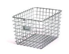 Amazon.com: Spectrum 47870 Small Storage Basket, Chrome: Home & Kitchen