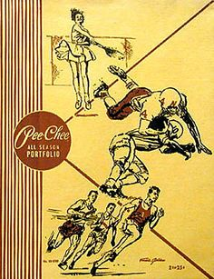 Pee Chee folders from junior high and high school days. Loved the cheater multiplication table inside